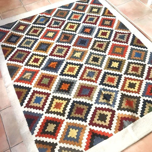 Kilim Cross pure laine