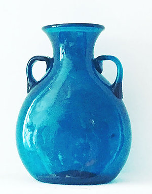 Vase Bawiti en verre soufflé fait main