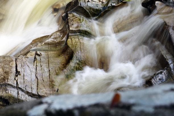 Bruar Falls in Motion