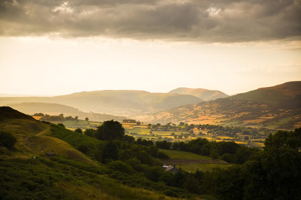 Golden Hour Powys
