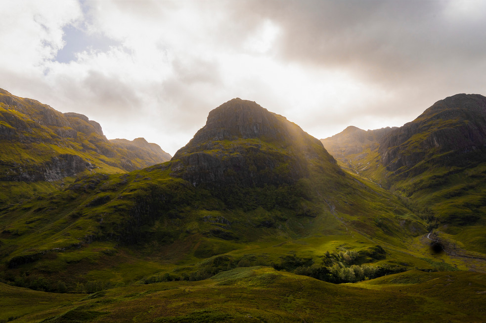The Three Sisters of Glen Coe