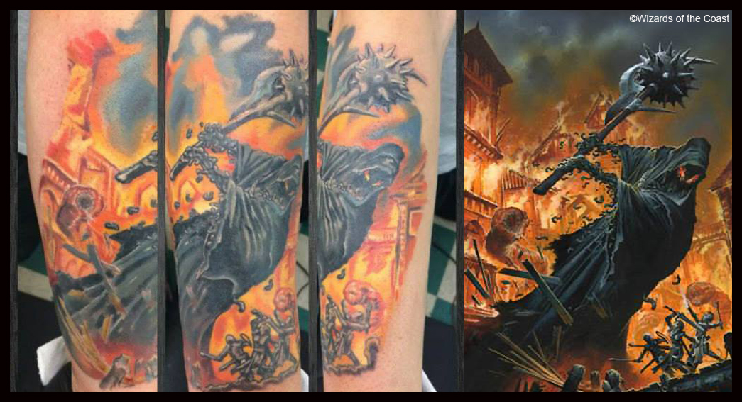 WAR Tattoo Gallery