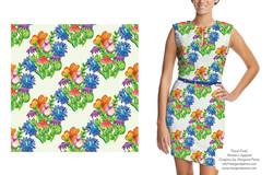 Seamless Floral Prints