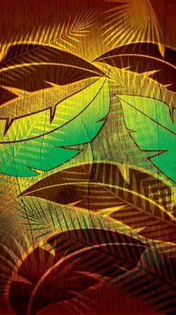 Banana & Palm Leaves