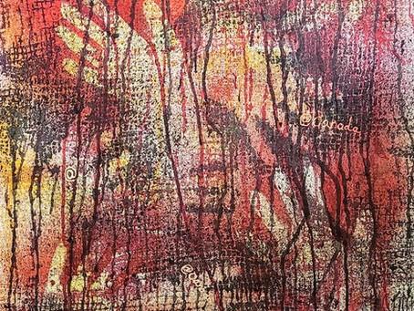 Batik series by Jan Creelman
