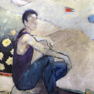 "Susan Dain ""Figure in Landscape"""