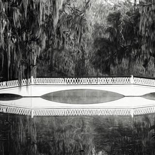 "John Pingree, ""Magnolia Gardens Bridge"""