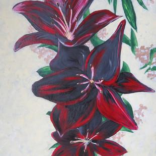 """Ljuba Simovic """"My Lilies"""""""