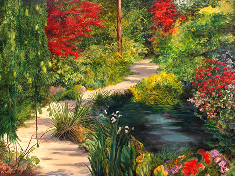 'Summer Stroll' at The Art of Emotions Gallery