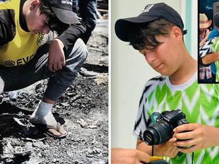 Precious Camera Lost in Refugee Fire Replaced