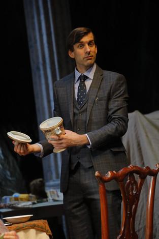 Alex as Bevan in 'People' by Douglas McBride