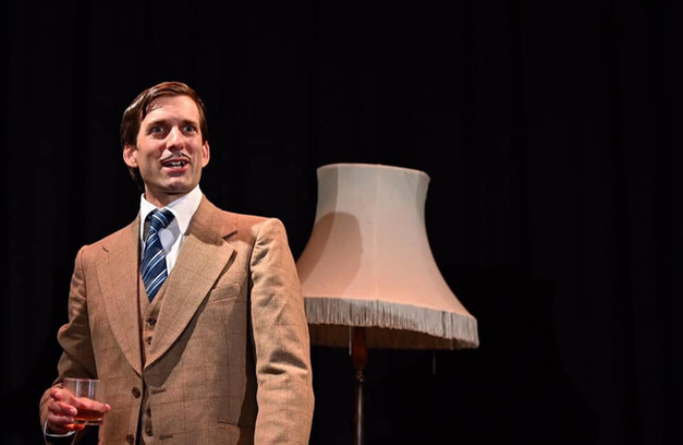 Alex as Richard Hannay in 'The 39 Steps', by Mark Turner