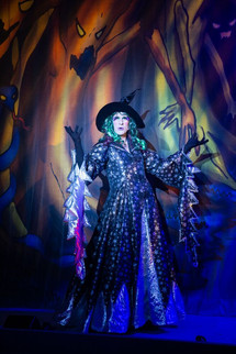 Alex as the Wicked Witch in 'Beauty and the Beast' 2018), by Graham Bennett