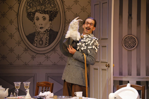 Alex as James Joyce in 'Travesties' by Douglas McBride