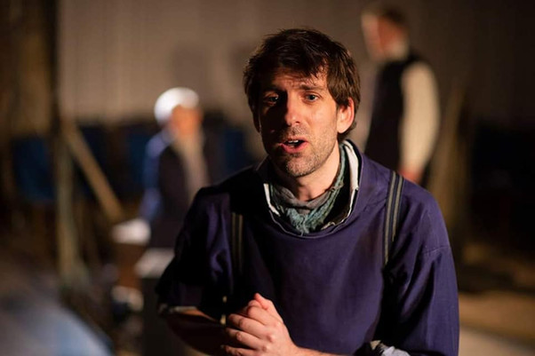 Alex as Bobby in 'Peril At Sea', by Peter Langdown