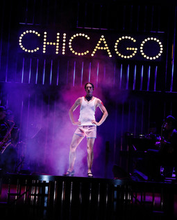 Alex as Mary Sunshine in 'Chicago' by Douglas McBride