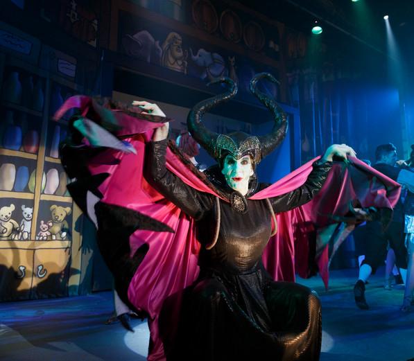 Alex as Carabosse in 'Sleeping Beauty', by Graham Bennett