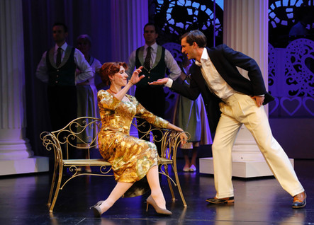 Alex as Dexter Haven in 'High Society', with Valerie Cutko, by Douglas McBride