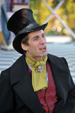 Alex as Doctor Caius in 'The Merry Wives of Windsor'.