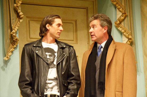 Alex as Ezekiel North in 'A Capital Affair', with Martyn Stanbridge