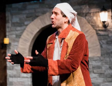 Alex as Ebenezer Scrooge in 'A Christmas Carol'
