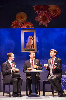 Alex as Henry/Hatty in 'Travels With My Aunt', with Chris Polick and Anthony Glennon
