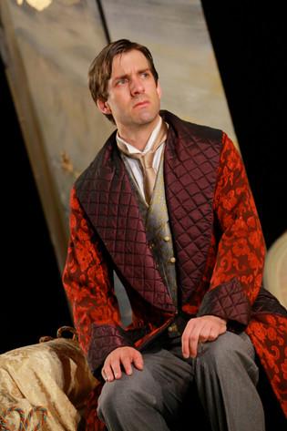 Alex as Lord Windermere in 'Lady Windermere's Fan' by Douglas McBride