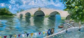 Richmond Bridge, July
