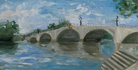 Richmond Bridge, June