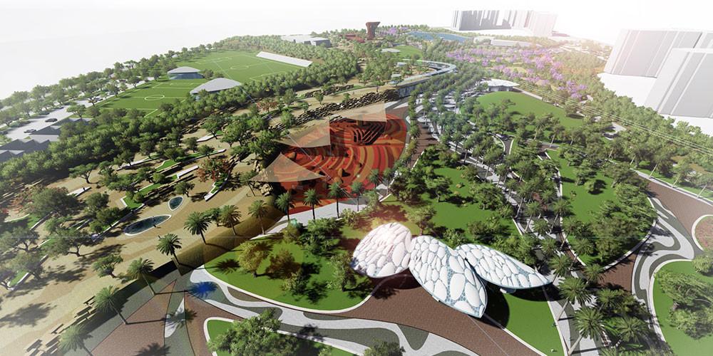 ZED El Sheikh Zayed Towers Garden