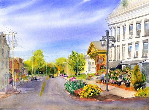 Prints | Limestone Plaza, Fayetteville