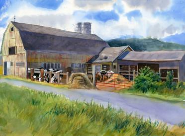 CNY Barns Amslea Dairy