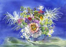 Garden Blooms Cards June Flowers