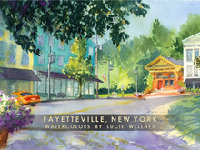 Fayetteville Card Pack Cover