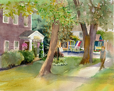 Original Painting | Shops on Brooklea