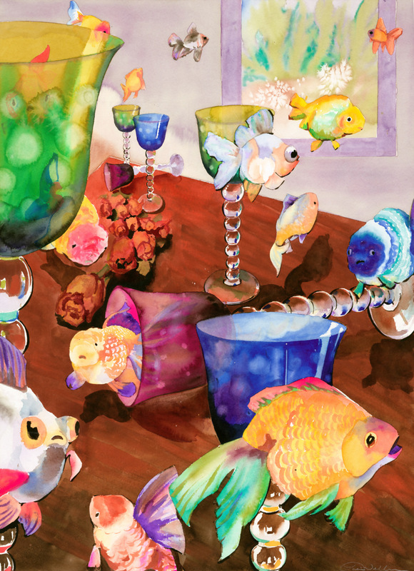 Tropical Fish Cards Magical Fish