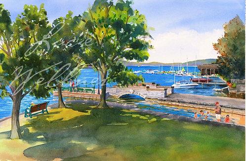 Original Painting | Lakeland Park, Cazenovia