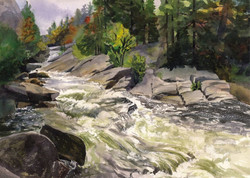 Adirondack Water Cards Eagle Cliff