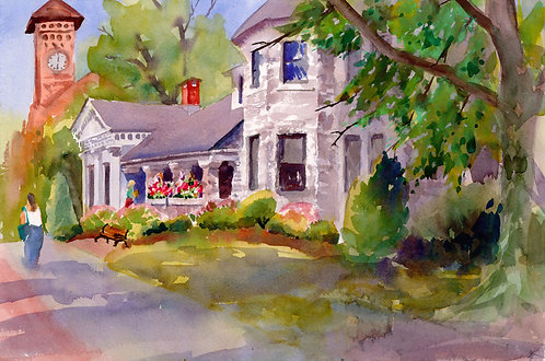 Original Painting | Skaneateles Library