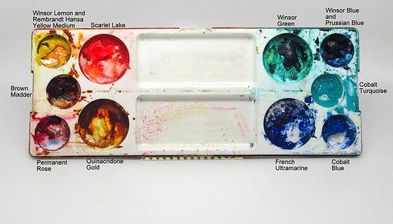 Holbein Plastic Watercolour Palette