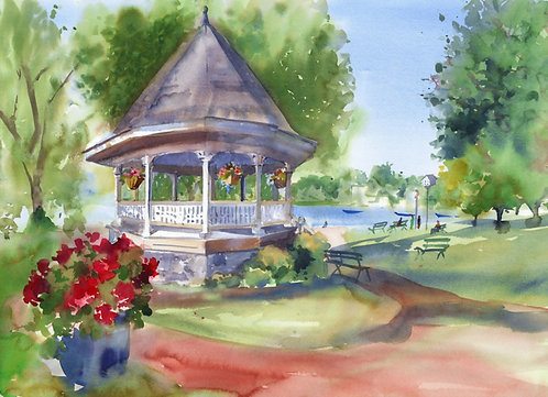 Prints | Skaneateles Gazebo