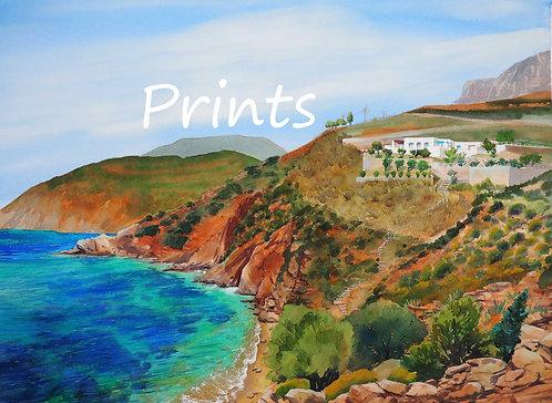 Prints | Kalymnos Villa