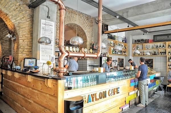 Trastevere: Baylon cafe