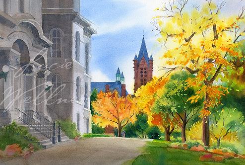 Original Painting | Syracuse University