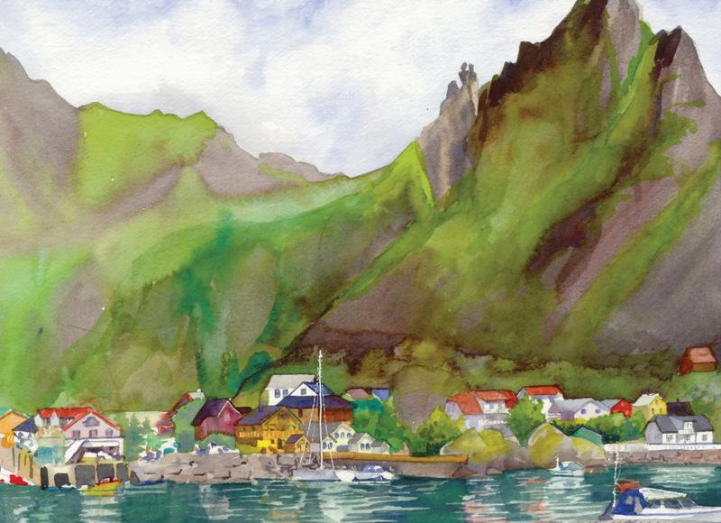 Norway Cards Svolvaer Geita