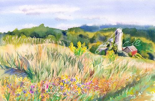 Original Painting | Cobb Hill, Cazenovia