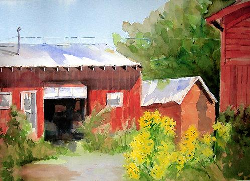 Prints | Greenville Barn