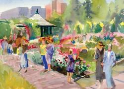 Rose Garden Cards Open House