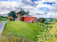 CNY Barns Pompey Center Road August 2014