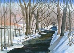 Winter Cards Limestone Creek